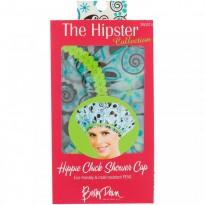 Betty Dain Creations, LLC, The Hipster Collection, Hippie Chick Shower Cap, 1 Shower Cap